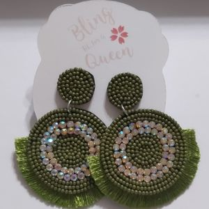 fashion earrings new never worn